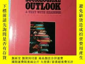 二手書博民逛書店The罕見Sociological Outlook: A tex