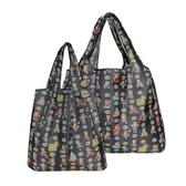 牛津布購物大袋高承重便攜可折疊環保袋加厚手提袋單肩包加束口袋 萬客城