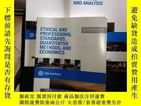 二手書博民逛書店Ethical罕見And Professional Standards, Quantitative Methods