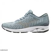 MIZUNO RIDER WAVEKNIT [J1GD193139] 女鞋 運動 慢跑 馬拉松 輕量 避震 耐磨 灰
