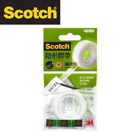 3M 810R-1/2 Scotch® 隱形膠帶補充包(12mmx11.4m) / 個
