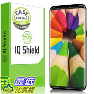 [107美國直購] 保護膜 Galaxy S8 Screen Protector, IQ Shield LiQuidSkin Full Coverage Screen Protector