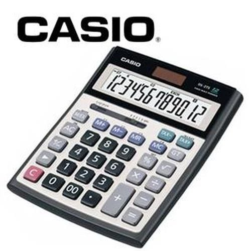 CASIO卡西歐 12位數頂級桌上型計算機 DS-2B