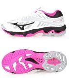 美津濃 MIZUNO 女排球鞋 WAVE LIGHTNING Z4 (白粉紅)  V1GC180064【 胖媛的店 】