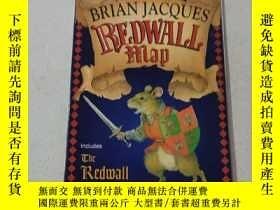 二手書博民逛書店BRIAN罕見JACQUES REDWALL Map:布萊恩·雅克,紅墻地圖Y200392