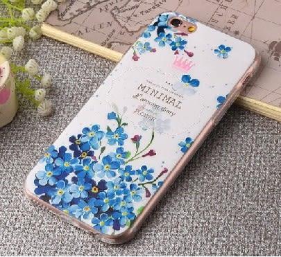 [24hr 火速出貨] 手機殼 彩繪 浮雕 保護殼 蘋果 iphone6 手機套 矽膠 軟殼 包邊 全包 防摔