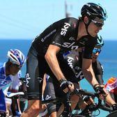 新款黑色短袖騎行服套裝男夏季車隊版單車衫環法自行車褲