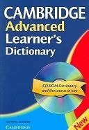 二手書博民逛書店《Cambridge Advanced Learner s Dictionary Paperback with CD-ROM》 R2Y ISBN:0521604990
