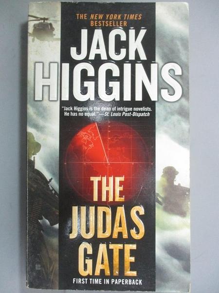 【書寶二手書T9/原文小說_NNY】The Judas Gate_Higgins, Jack
