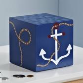 卡通存錢罐創意兒童樣板房地中海裝飾品桌面擺件儲錢罐硬幣筒大號