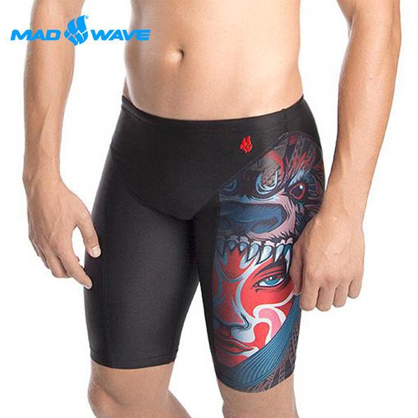 俄羅斯MADWAVE成人泳褲TRIBE PBT-買就送Barracuda矽膠耳塞