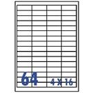 Unistar 裕德3合1電腦標籤紙 (36)US4271 64格 (100張/盒)