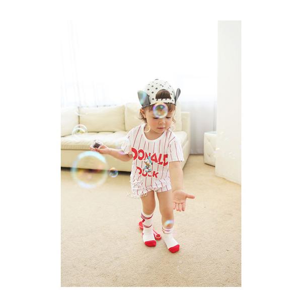 【韓風童品】kacakid男女童棉質長筒襪  長筒襪 中高筒襪子 襪子 嬰幼兒童襪子 運動風休閑襪