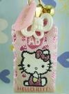 【震撼精品百貨】Hello Kitty 凱蒂貓~幸運御守-血型AB-粉色【共1款】