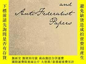 二手書博民逛書店The罕見Essential Federalist And Anti-federalist PapersY25