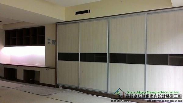系統家具/系統櫃/木工裝潢/平釘天花板/造型天花板/工廠直營/系統家具價格/系統拉門衣櫃-sm0556