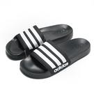 ADIDAS ADILETTE SHOWER 黑 白 運動拖鞋 男鞋 女鞋 涼拖鞋 舒適好穿 (布魯克林) AQ1701