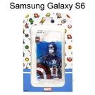 復仇者海報版透明軟殼 [美國隊長] Samsung G9200 Galaxy S6【正版授權】