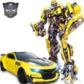 遙控玩具 變形金剛玩具兒童感應充遙控汽車男孩大黃蜂機器人TA1096【極致男人】