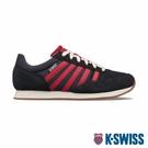 K-SWISS Granada復古運動鞋-男-藍/紅
