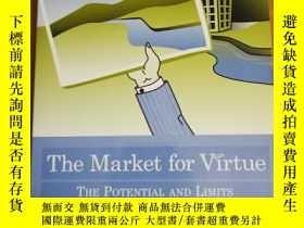 二手書博民逛書店The罕見Market for Virtue: The Potential and Limits of Corpo