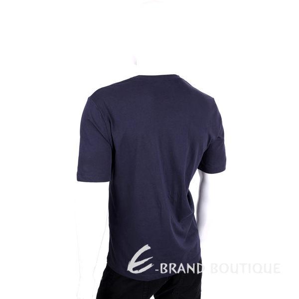 LOVE MOSCHINO 深藍色船錨圖印棉質短袖T恤 1620163-34