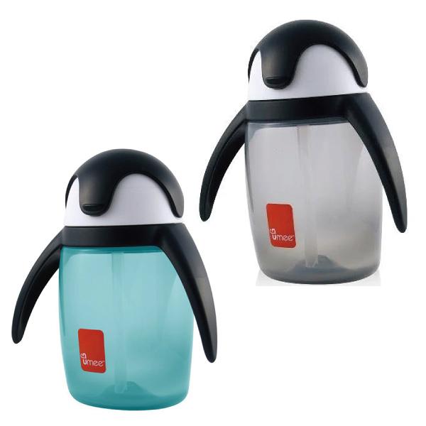 荷蘭 UMEE 優酷企鵝杯360ml 灰/藍
