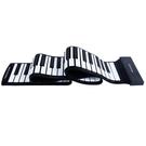 88鍵手卷鋼琴初學者鋼琴電子鋼琴便攜鍵盤硅膠軟鋼琴加厚