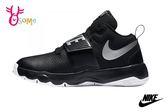 NIKE TEAM HUSTLE D 8 GS 籃球鞋 大童 成人女鞋 緩震 固定帶 運動鞋 O7276#黑色◆OSOME奧森童鞋