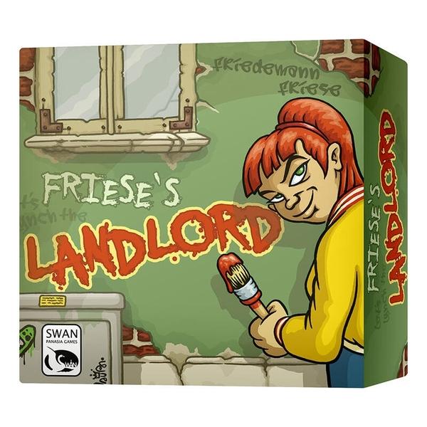 『高雄龐奇桌遊』 出租公寓 LANDLORD 英文版附繁體中文說明書 正版桌上遊戲專賣店
