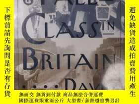 二手書博民逛書店the罕見rise and fall of class in britainY352948 david can