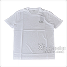 EMPORIO ARMANI EA7銀字LOGO純棉短袖T恤(S/M/L/XL/白)