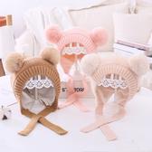 兒童秋冬季韓版加絨護耳帽男童女童可愛寶寶保暖嬰幼兒洋氣帽子萌
