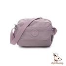 B.S.D.S冰山袋鼠 - 時光旅人 - 知性休閒多隔層斜背包 - 淡紫色【B0025-2PR】