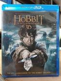 挖寶二手片-0476--正版藍光BD【哈比人:五軍之戰 3D+2D四碟版】熱門電影(直購價)