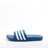 ADIDAS  舒適 軟底 Adilette CF Ultra 藍白 運動拖鞋 AQ4936