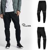 Nike 長褲 NSW Jogger Woven V442 黑 縮口褲 鬆緊帶 基本款 男款 【PUMP306】 805099-010
