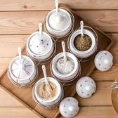 創意陶瓷調味罐韓式調味盒瓶調料罐盒瓶鹽罐