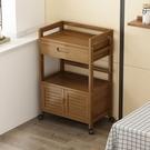 櫥櫃 柜子儲物柜房間家用餐邊柜可移動茶水柜多功能抽屜式簡易廚房架子