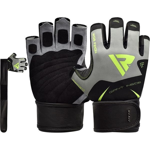 【線上體育】RDX GYM GLOVES SUMBLIMATION F21 GREEN