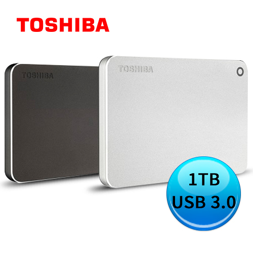 TOSHIBA Canvio Premium P2 1TB 金耀碟 2.5吋 外接硬碟