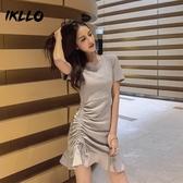 女裝新款裙子顯瘦性感法式流行