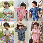日式浴衣 和服 造型服 連身衣 三角和服 四角和服 男寶寶 女寶寶 爬服 哈衣 Augelute Baby 42122