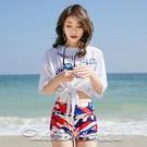 泳衣女三件套新款超仙比基尼分體性感遮肚顯瘦保守溫泉游泳衣 阿卡娜
