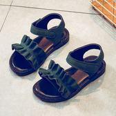 聖誕節交換禮物-新款韓版夏季時尚軟底中大鞋子小女孩兒童女公主童鞋