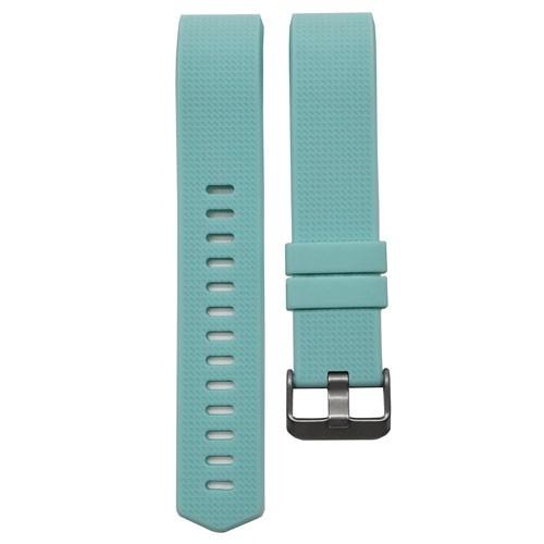 Fitbit charge 2 斜紋錶帶 智能手環 運動手錶錶帶 舒適透氣 矽膠替換腕帶 可調節式開口