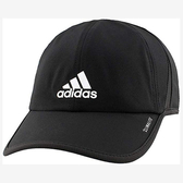 Adidas- 愛迪達男輕質吸濕排汗帽(黑色)