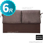 INPHIC-Polly 艾菲爾6尺胡桃咖啡色布墊床片_P7zc