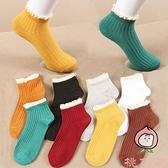 襪子女韓版襪春夏季日系船襪潮流花邊棉襪低幫防滑短襪【桃可可服飾】