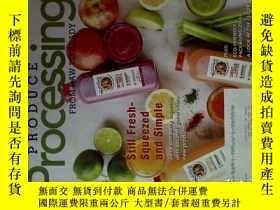 二手書博民逛書店Produce罕見Processing (Magazine) 3-4 2018 食品產品加工Y14610